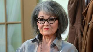 Roseanne Barr (file pic)