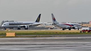 Singapore Airlines and Malaysia Airlines