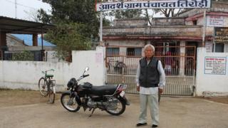 बालाघाट ज़िले के तिरोड़ी गाँव में वांग