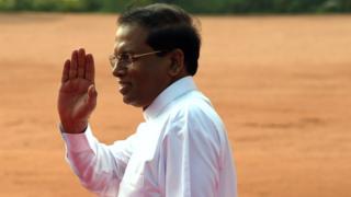 Прогноз щодо президента Шрі-Ланки не справдився