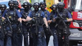 Counter-terrorism police
