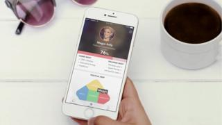 Screenshot of the 'Voter' app