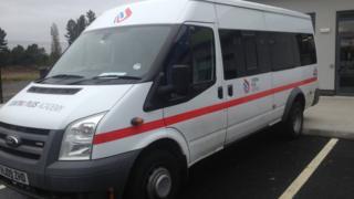 A minibus