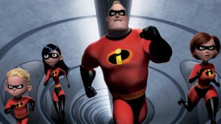 Promo pic for The Incredibles film