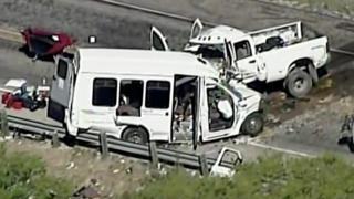 Автокатастрофа в Техасе