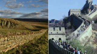 Hadrian's Walls and the Great Wall of China