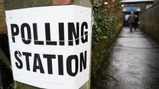 Copeland polling station
