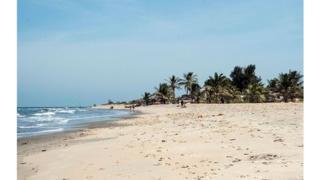 Une plage de Banjul