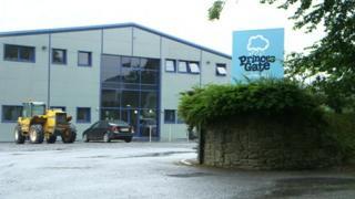 Princes Gate factory