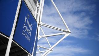Exterior of the King Power Stadium in Leicester