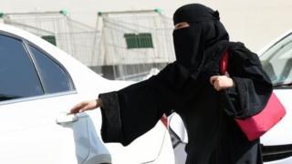 Wata mace 'yar Saudiyya