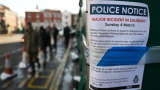 A police notice in Wiltshire