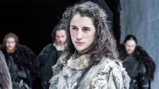 Ellie Kendrick as Meera Reed in Game of Thrones