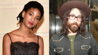 Willow Smith and Sean Lennon