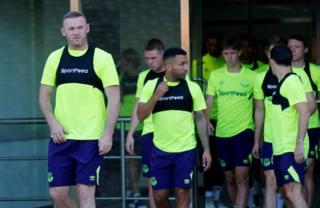 Umugwi wa Everton wazindutse wimenyereza i Dar es Salaam