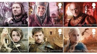 Ігры престолов - марки