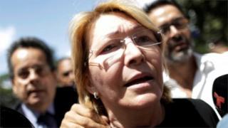 Sacked Venezuelan Chief Prosecutor Luisa Ortega, 5 August 2017
