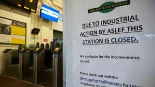 Southern Rail strikes