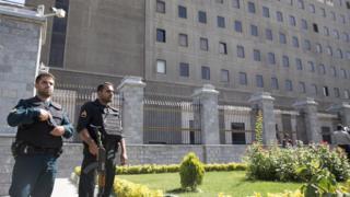 مبنى الشورى الإيراني (البرلمان)