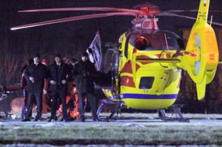 Премьера доставили на вертолете в одну из клиник Варшавы