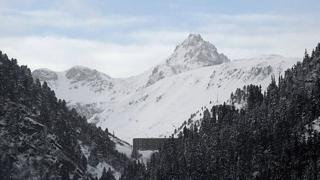 Valfrejus ski resort, France