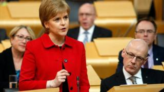Nicola Sturgeon, ministra principal de Escocia.
