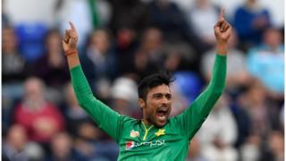 محمد عامر انگلینڈ کے خلاف سیمی فائنل سے قبل کمر میں تکلیف کی وجہ سے ان فٹ ہو گئے تھے