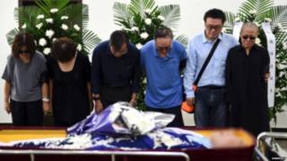 चीन के विद्रोही नेता लू श्याबाओ का अंतिम संस्कार