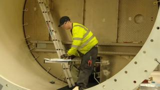 Wind Towers Scotland worker