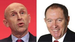 Rotherham MPs John Healey and Sir Kevin Barron