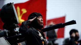 Напруга між США і КНДР посилилася після проведення Пхеньяном масштабного військового параду і низки ракетних випробувань