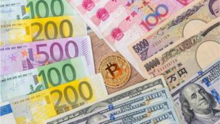 比特币和人民币,美元,欧元和日元