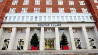 The Dolphin Square apartments in central London