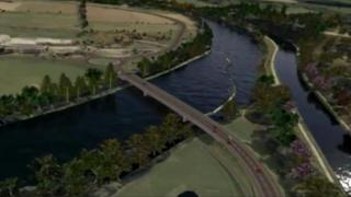 Highland Council simulation of Inverness West Link