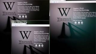 Wikipedia có thể truy cập được ở Trung Quốc, nhưng một số nội dung bị chặn.