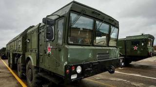 "Россиянинг ""Искандар"" ракета комплекси"