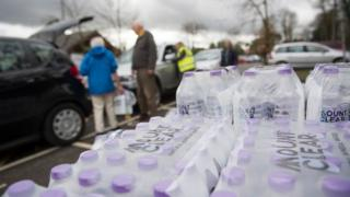 Bottled water point in Crowborough