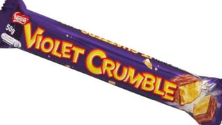 Violet Crumble bar