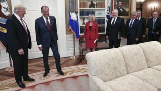 Встреча Трампа с Лавровым
