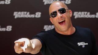 """Vin Diesel en la presentación de """"Fast and Furious"""" 8"""