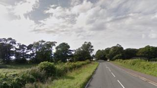 A595 heading towards Bootle