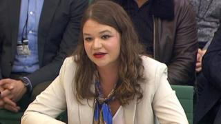 Brittany Kaiser, former Director of Program Development at Cambridge Analytica gives evidence