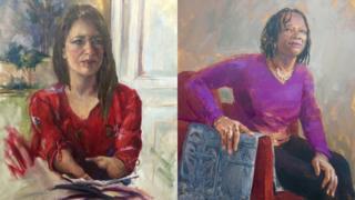 Marie Tidball and Professor Patricia Daley