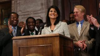 Candidates are looking at Nikki Haley as a possible vice president