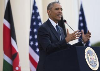Obama dont le père est Kenyan a demandé aux populations à s'engager pour des élections pacifiques et crédibles