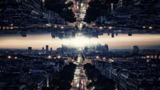 Imagen simulando universos paralelos.