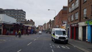 The incident happened on Parnell Street in Dublin
