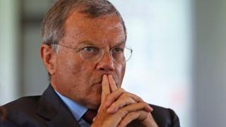 Sir Martin Sorrell is the chief executive of WPP