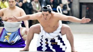 引退を表明した横綱日馬富士(写真は2014年撮影)