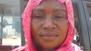 Isatu Kanyi wife/widow of disappeared victim